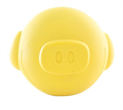 Martin sellier latex bal varken geel (10X10X10 CM)