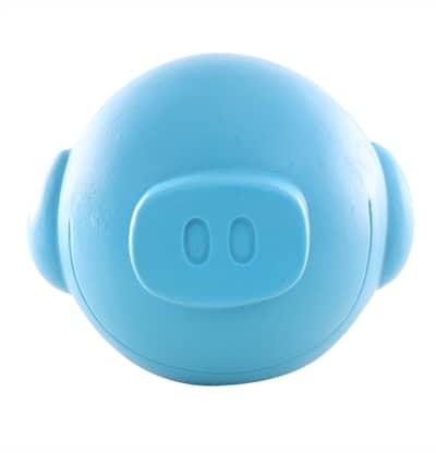 Martin sellier latex bal varken blauw (10X10X10 CM)