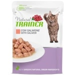 Natural trainer cat mature salmon pouch (12X85 GR)