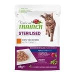 Natural trainer cat sterilised turkey pouch (12X85 GR)