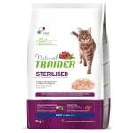 Natural trainer cat sterilised white meat (3 KG)