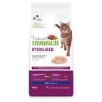 Natural trainer cat sterilised white meat (10 KG)