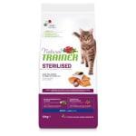 Natural trainer cat sterilised salmon (10 KG)