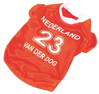 Oranje voetbalshirt (24 CM)