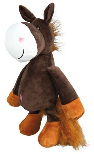 Trixie pluche paard met dierengeluid (32 CM)