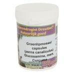 Dierendrogist groenlipmossel met glucosamine / msm / curcuma