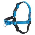 Petsafe easy walk hondentuig deluxe met lijn oceaan blauw (SMALL)