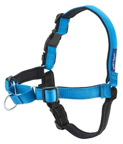 Petsafe easy walk hondentuig deluxe met lijn oceaan blauw (MEDIUM)