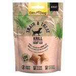 Gimdog train & treat krill / hennep (125 GR)
