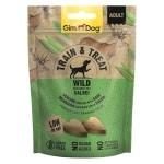 Gimdog train & treat wild / salie (125 GR)
