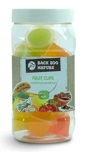 Back zoo nature fruitkuipje mix reptiel (24 ST)