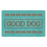 Tarhong placemat good dog turquoise (48,5X29 CM)