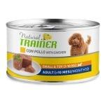 Natural trainer dog adult mini maintenance chicken (24X150 GR)