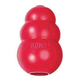 Kong classic rood (XL 9X9X12,5 CM)