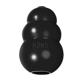 Kong extreme zwart (MEDIUM 5,5X5,5X9 CM)
